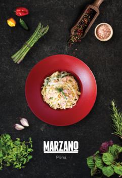 Marzano Menu