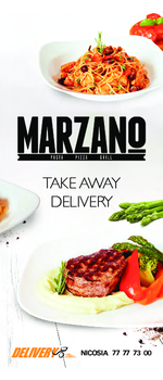 delivery menu marzano